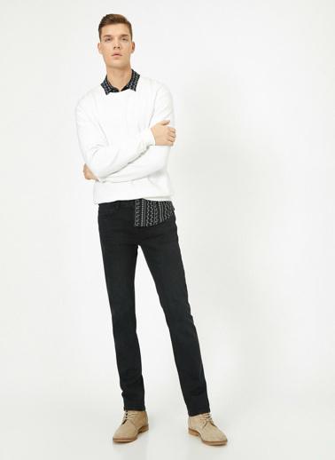 Koton Brad Jean Pantolon Siyah